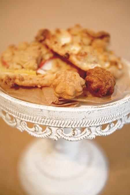 Pudding-Plunder mit Äpfeln und Zimtstreuseln
