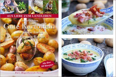 Buchrezension und Rezept: Cornelia Adams – Gute Kartoffeln: Die große Liebe zur kleinen Knolle