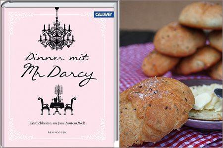 Buchrezension und Rezept: Pen Vogler – Dinner mit Mr. Darcy: Köstlichkeiten aus Jane Austens Welt