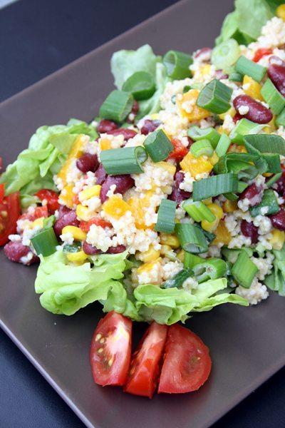sommerlich leichter Hirsesalat