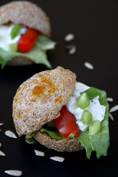 Lowcarb Brötchen - Burger Buns