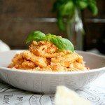 Pesto Trapanese mit frischen Tomaten und Mandeln