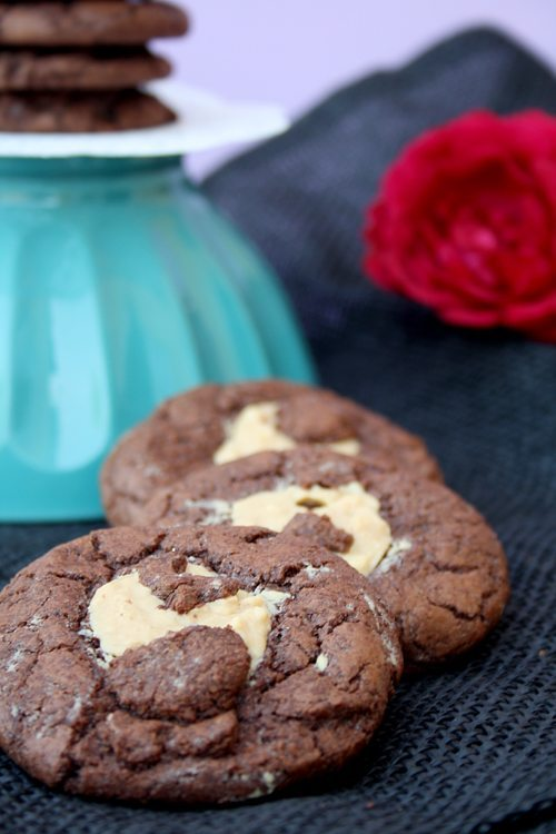 Schokocookies mit Erdnussbutter