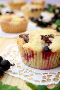 Rezept für Muffins mit Jostabeeren