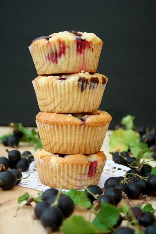 Jostabeeren-Muffins