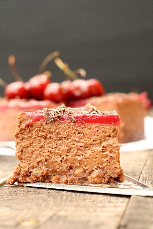Mango-Schoko-Cheesecake