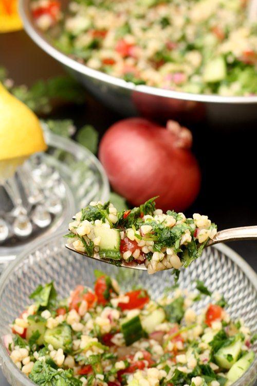 Orientalischer-Salat - Tabouleh