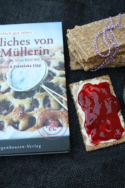Neues von der Müllerin -  selbstgebackenes Knäckebrot
