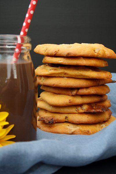 exotische Kürbis-Cookies mit Aprikosen