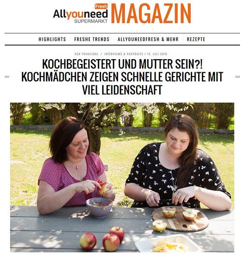 Kochmaedchen-aynf-interview