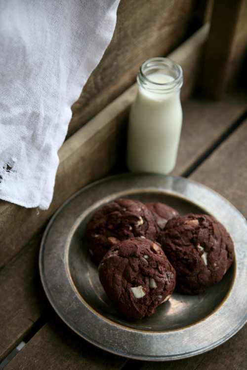 Triple-Chocolate-Cookies