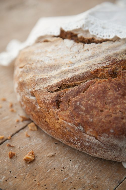 Dinkel-Roestzw2iebel-Brot
