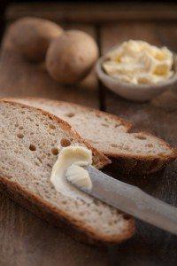 Kartoffelbrot mit Sauerteig und Kefir