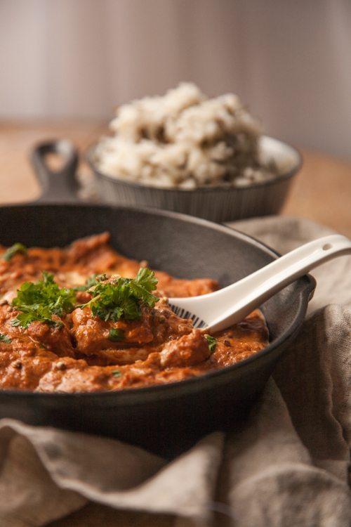 Rezept Indisches Chicken Tikka Masala