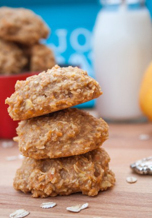 Apfel-Möhren-Cookies