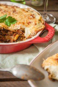 Wirsing Lasagne vegetarisch