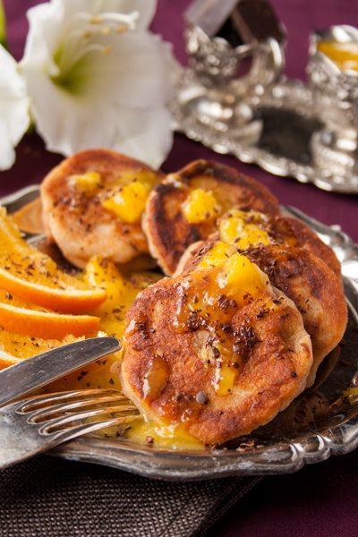 American Pancakes mit Ricotta