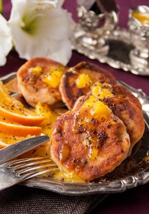 Rezept: American Pancakes mit Ricotta und Orangensoße für den perfekten Start in den Tag