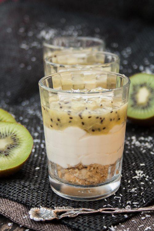 Rezept kasekuchen im glas mit weisser schokolade kokos for Wei es glas