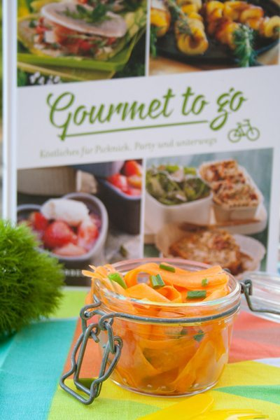 Gourmet to go: Möhrensalat