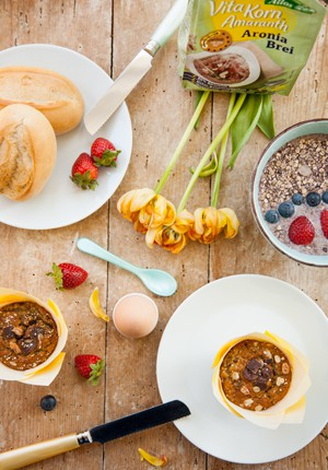 Rezept & Verlosung: #EatLifeBalance Müsli-Bananen-Muffins für meine Lieblingsmahlzeit des Tages (Werbung)