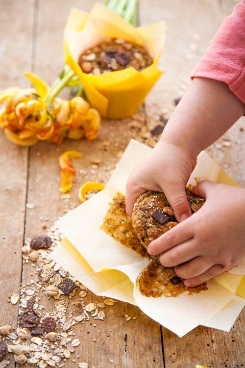 Muesli-Bananen-Muffins
