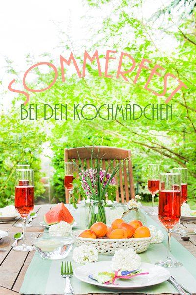 Sommerfest bei den Kochmädchen