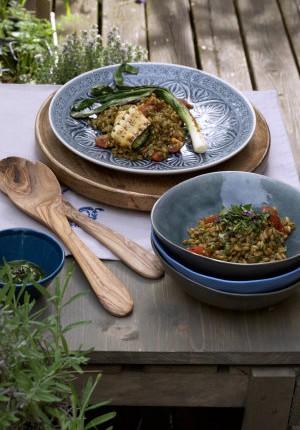 Sommerfest: Dinkelsalat mit Grillgemüse von Eva und Philipp von Ye olde Kitchen (Gastbeitrag)