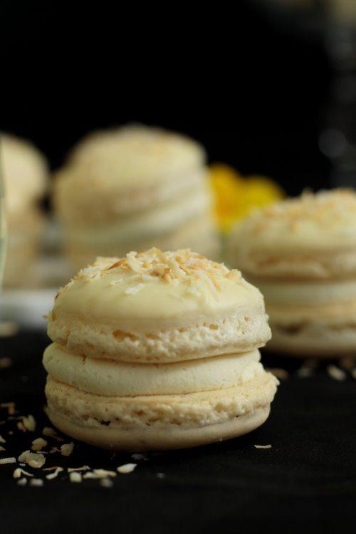 Macarons Raffaelo