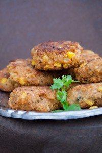 Vegan Reisbällchen mit Mais