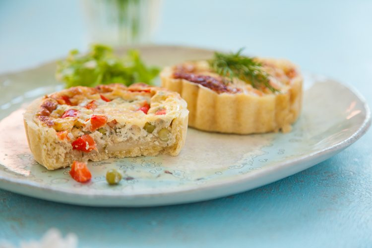 Mini-Quiche-Lachs