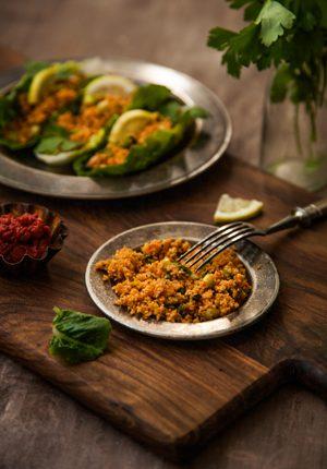 "Rezept: Türkischer Bulgur-Salat ""Kisir"""