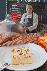 Apfelkuchen mit Mandeln - Natürlich gut backen