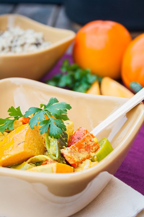 Curry mit Hähnchen und Permison3