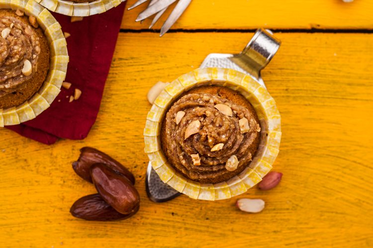 Clean-Eating-Erdnuss-Cupcakes