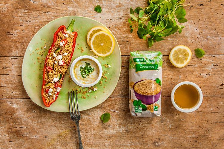 Couscous-Salat-Produkt