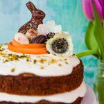 Kuchen Rezepte Karottenkuchen mit Dinkelmehl und Frosting