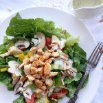 Salate zum Grillen Feta Dressing zu Blattsalaten