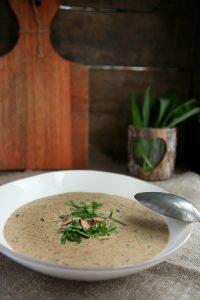 Bärlauch Rezepte Bärlauch Suppe mit Pilzen