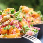 Salate zum Grillen Veganer Quinoa-Möhren-Salat