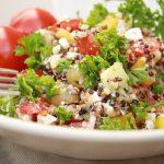 Salate zum Grillen Quinoa Salat griechische art