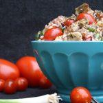 Salate zum Grillen Reissalat