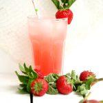 Erdbeer Rhabarber Limonade