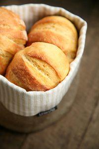 Brötchen Rezept Kartoffel Brötchen selber backen
