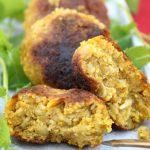 Fingerfood Bunte vegane Gemüsebällchen