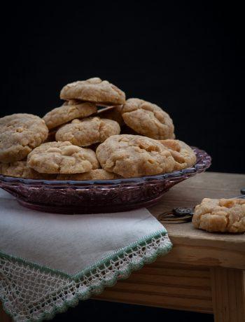 schnelle Cookies mit Erdnüssen