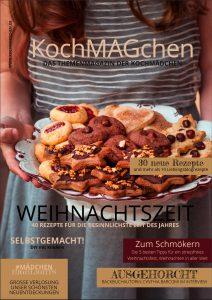 KochMAGchen Weihnachtszeit Food Themenmagazin mit Rezepten der Kochmädchen