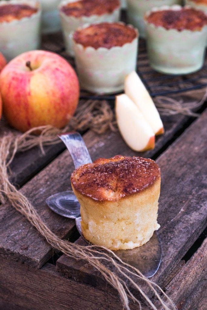 Apfel-Muffins mit zimt
