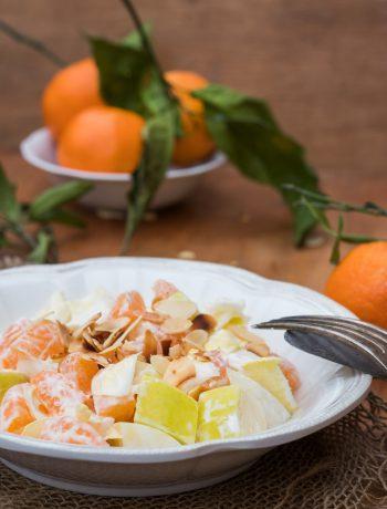 Chicoreesalat mit Mandarinen