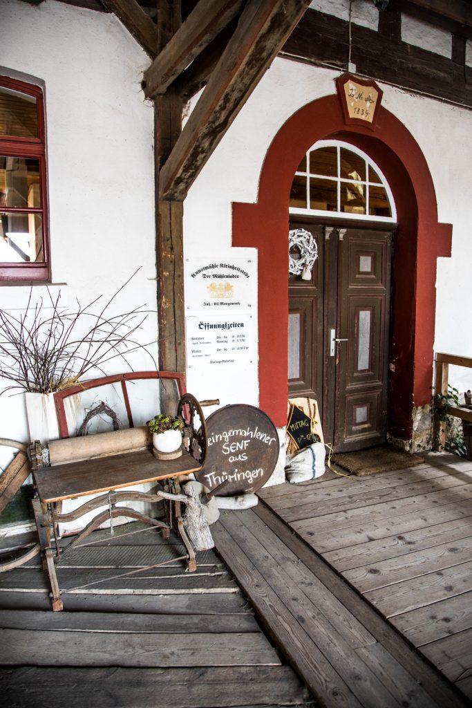 Senfmühle Kleinhettstett Thüringen